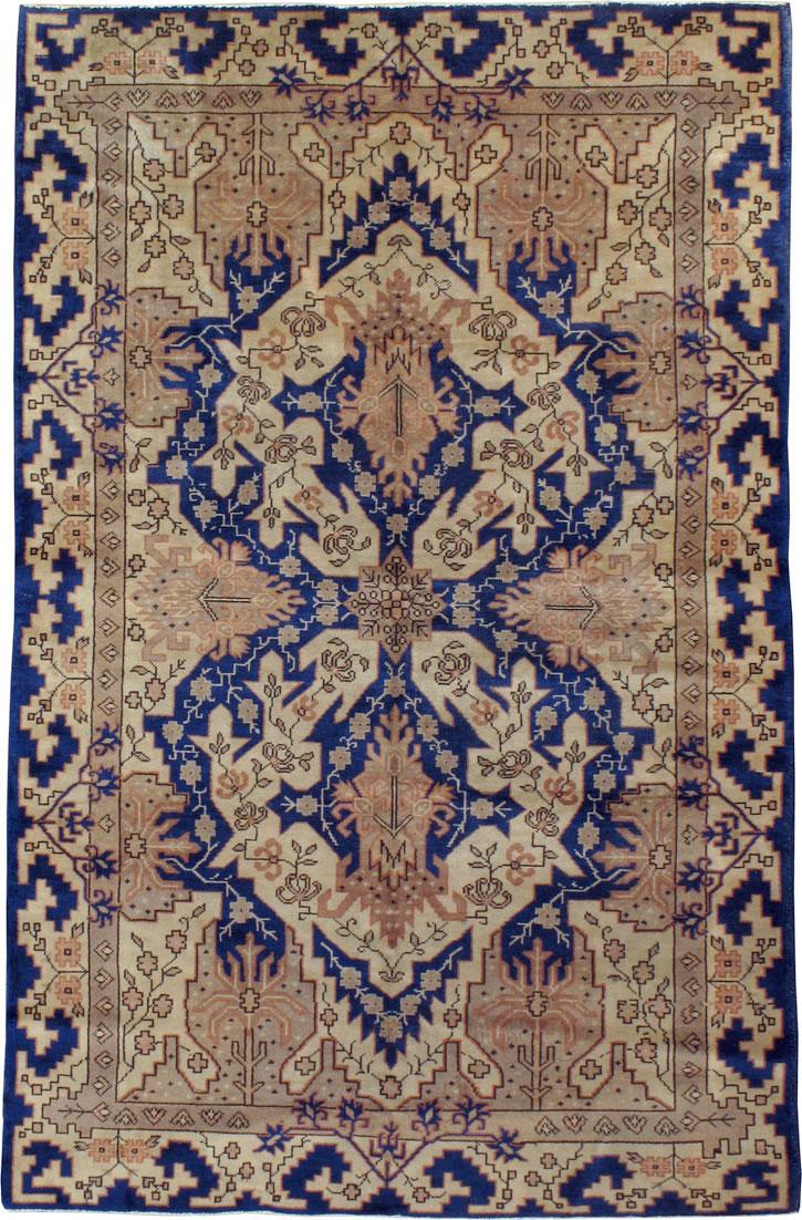 Vintage Indian Lahore Carpet No 11345