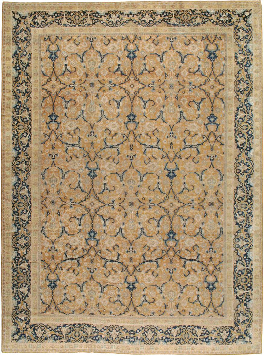 Antique Persian Tabriz Carpet, No.14568 - Galerie Shabab