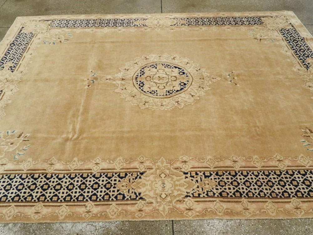 Vintage Persian Kerman Carpet, No.14663 - Galerie Shabab