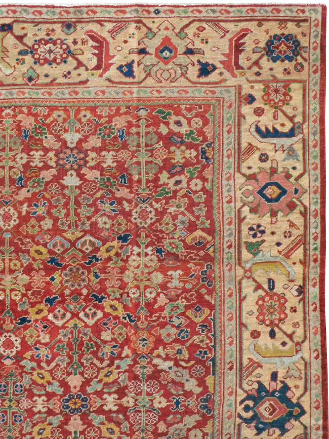 Antique Persian Mahal Carpet, No.16823 - Galerie Shabab