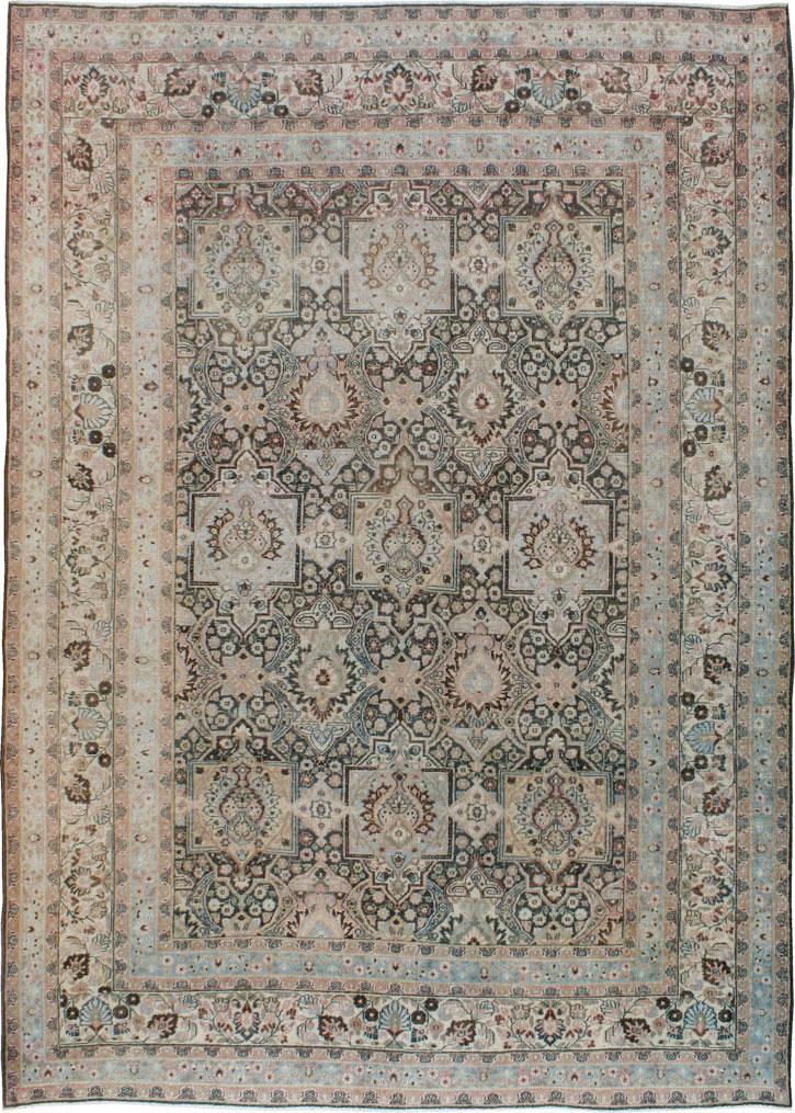 Antique Persian Dorokhsh Carpet No 17225