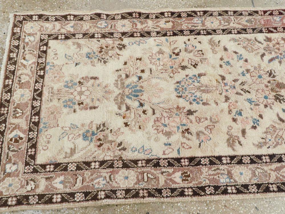 Vintage Persian Hamadan Runner, No.17234 - Galerie Shabab