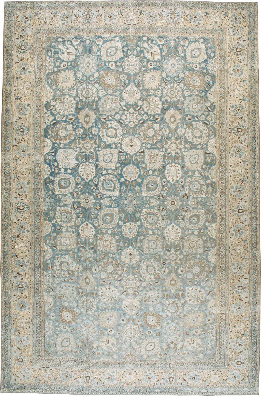 Antique Persian Tabriz Carpet No 17235