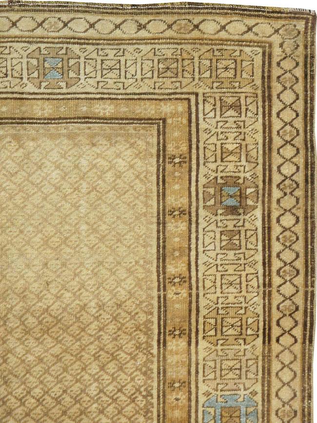 Vintage Persian Kurdish Rug No 17565