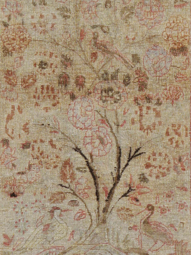 Antique Persian Lavar Kerman Rug, No.18962 - Galerie Shabab
