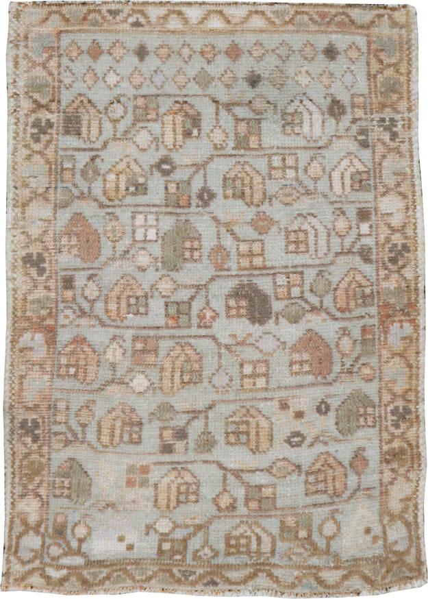 Vintage Persian Malayer Rug, No.21251 - Galerie Shabab