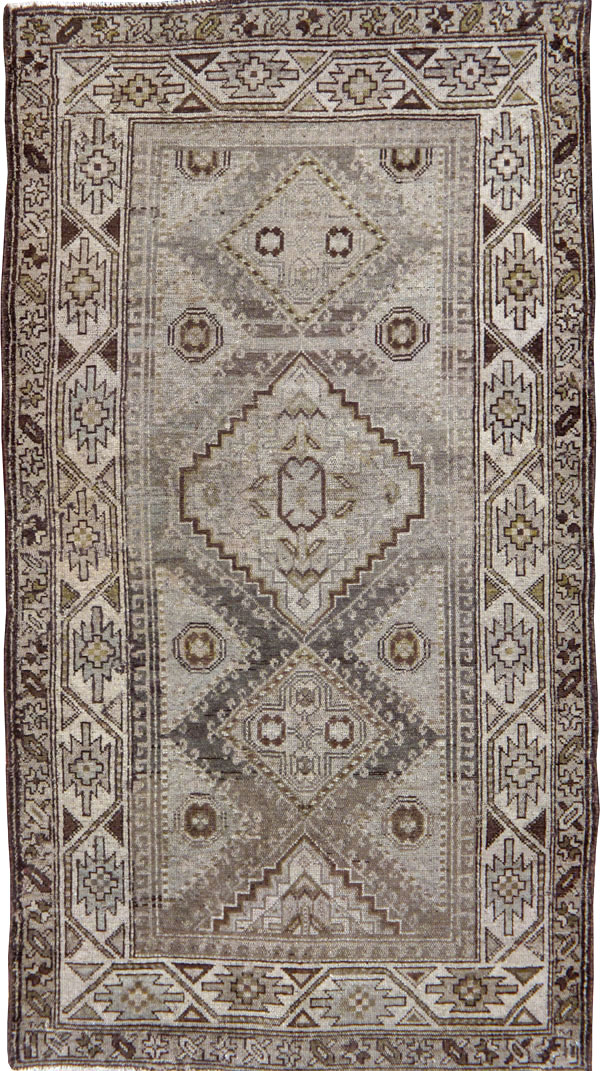 Vintage Persian Kurdish Rug, No.22098 - Galerie Shabab