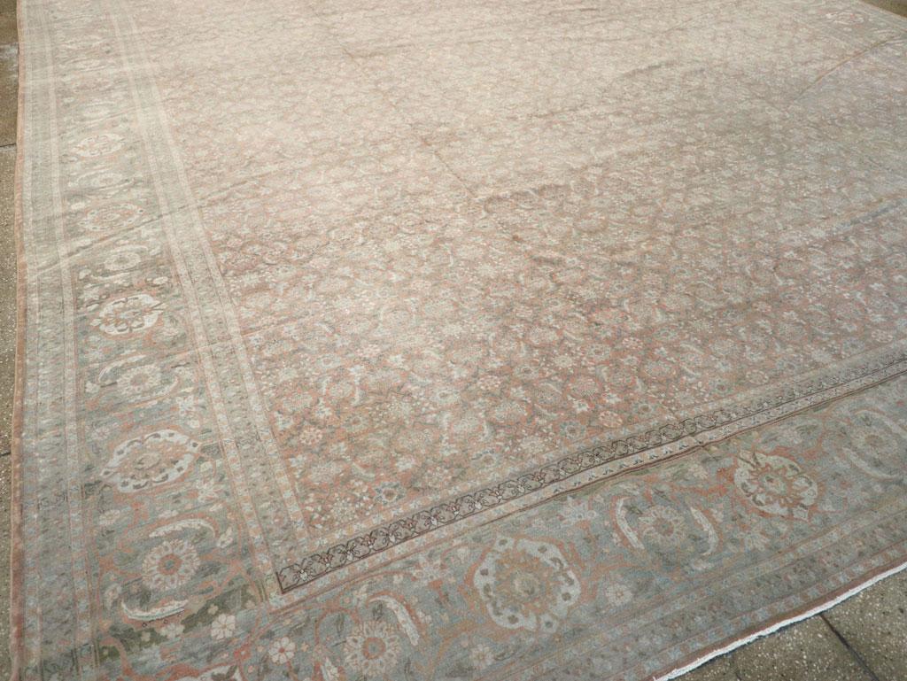 Antique Persian Tabriz Carpet, No.22253 - Galerie Shabab