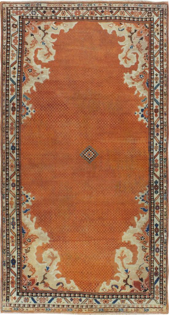 Vintage Persian Mahal Rug No 22946