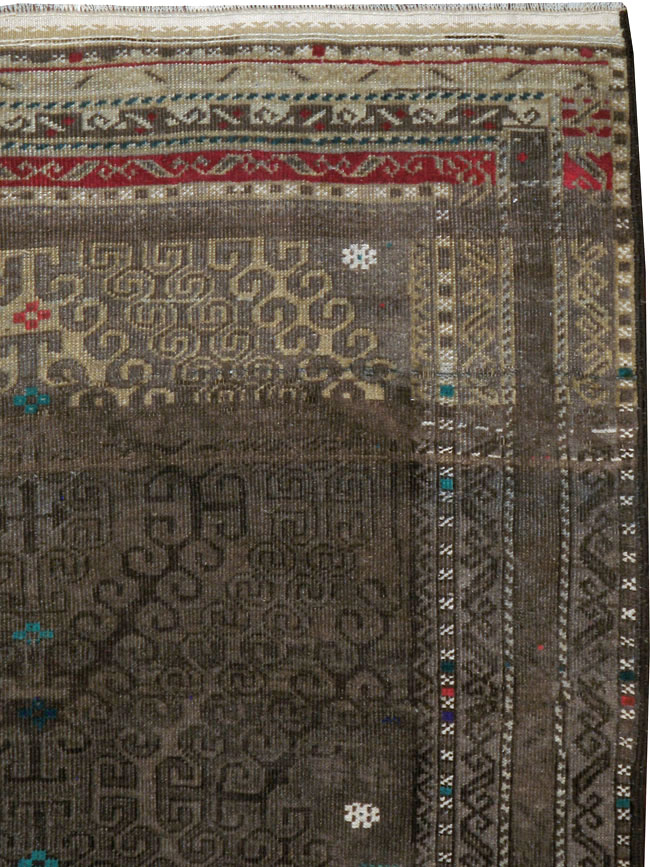 Vintage Persian Baluch Rug, No.23061 - Galerie Shabab