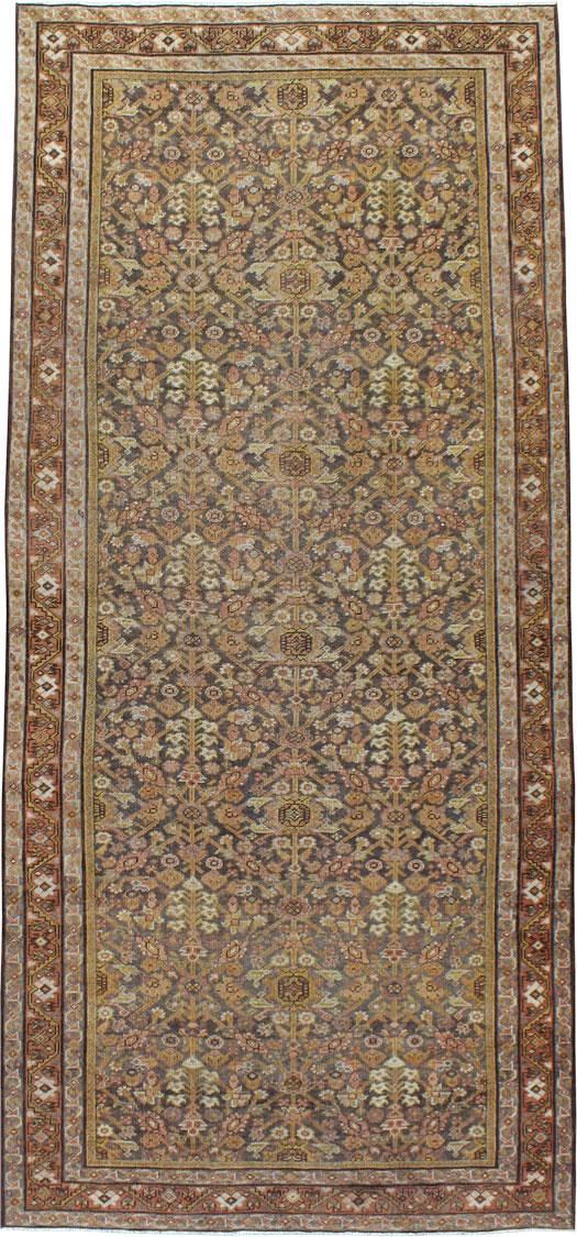 Antique Persian Malayer Carpet, No.23080 - Galerie Shabab