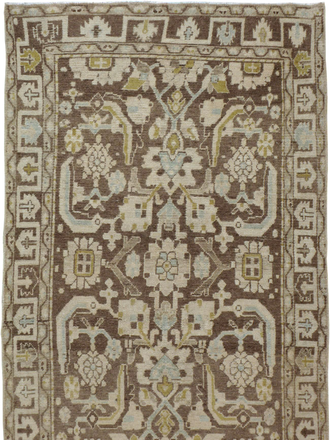 Vintage Persian Malayer Runner, No.23871 - Galerie Shabab