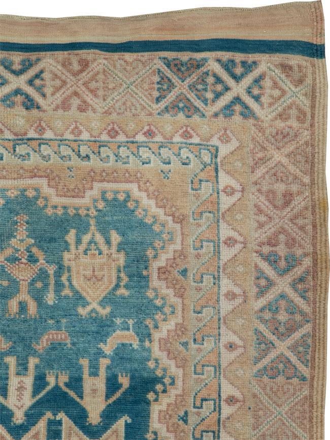 Vintage Moroccan Rug, No.24291 - Galerie Shabab