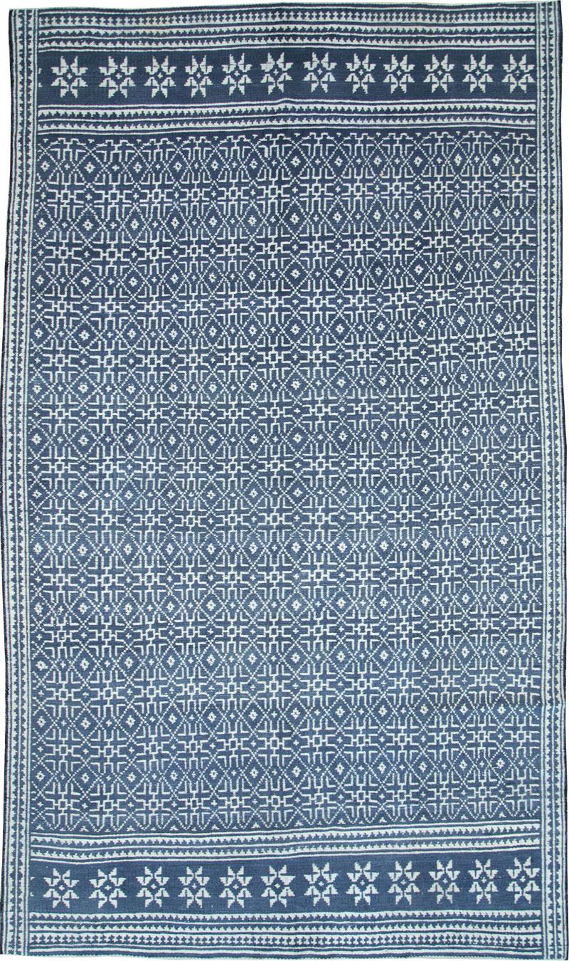 Vintage Persian Flatweave, No.25270 - Galerie Shabab