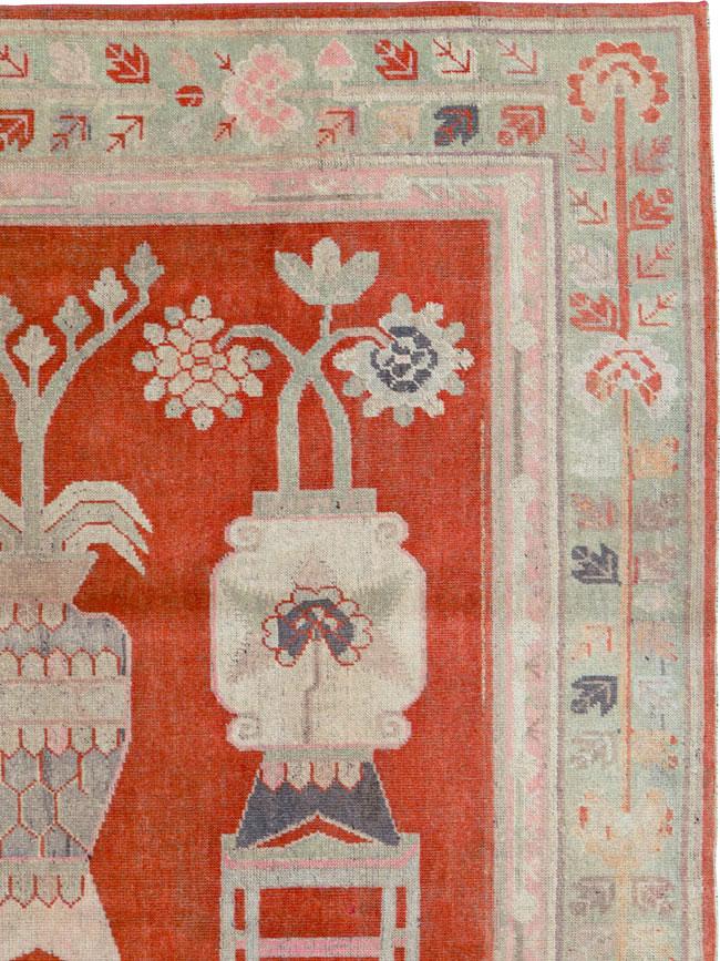 Antique Khotan Rug, No.25881 - Galerie Shabab