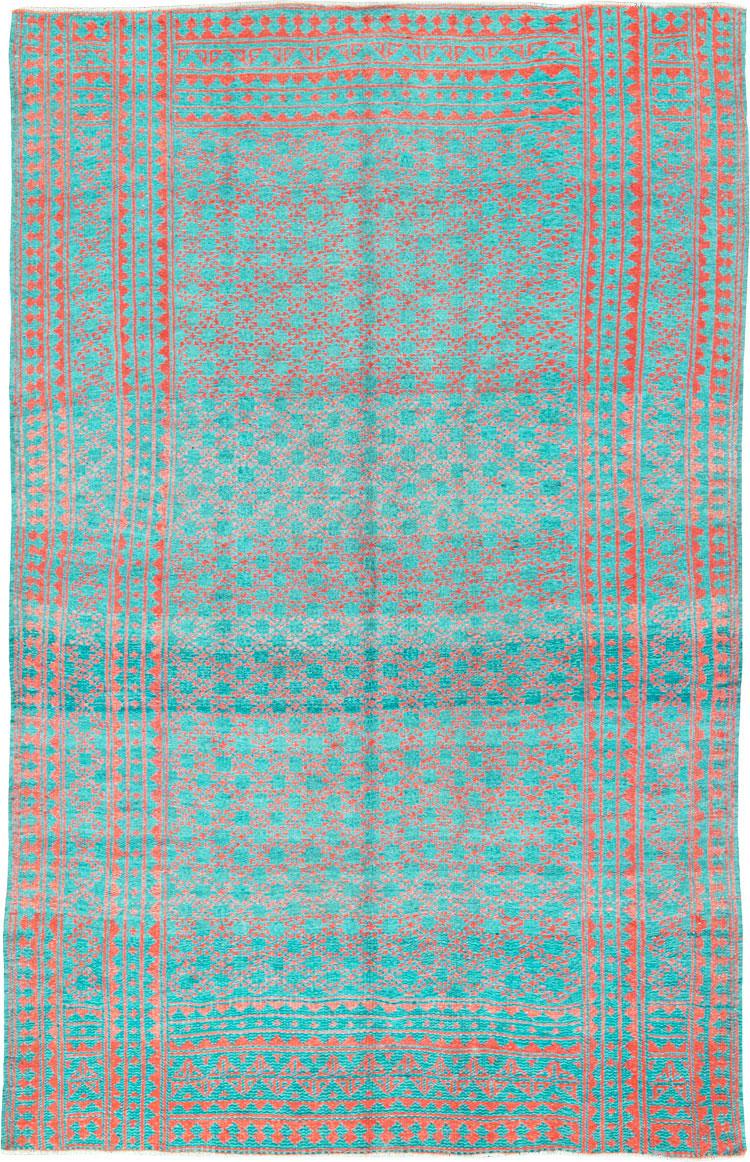 Vintage Persian Reversible Flatweave, No.26043 - Galerie Shabab