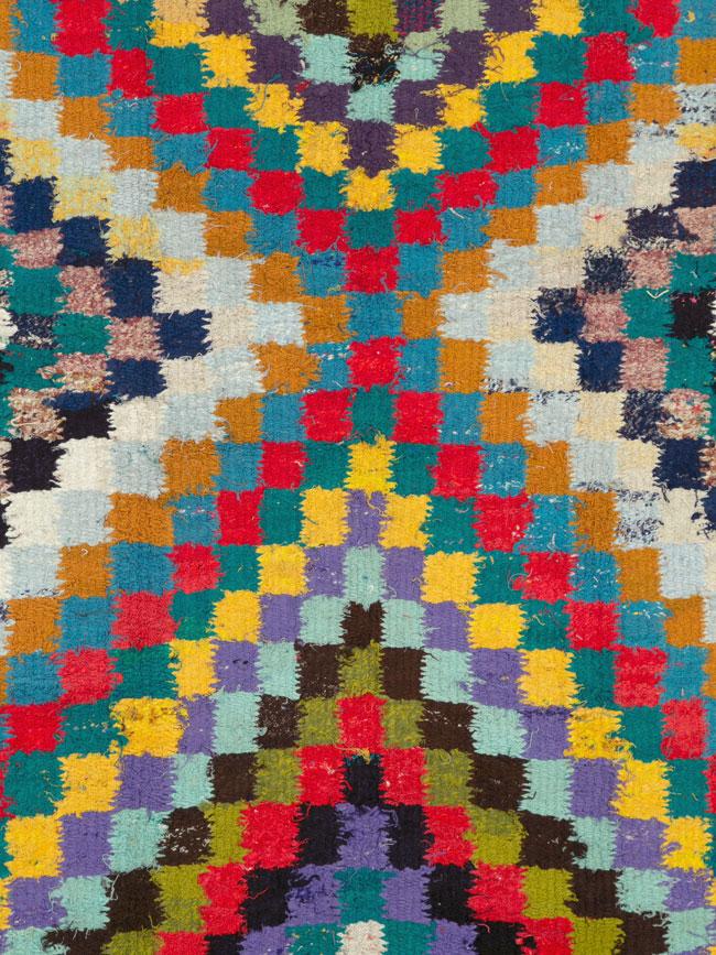 Vintage Persian Flatweave, No.26085 - Galerie Shabab