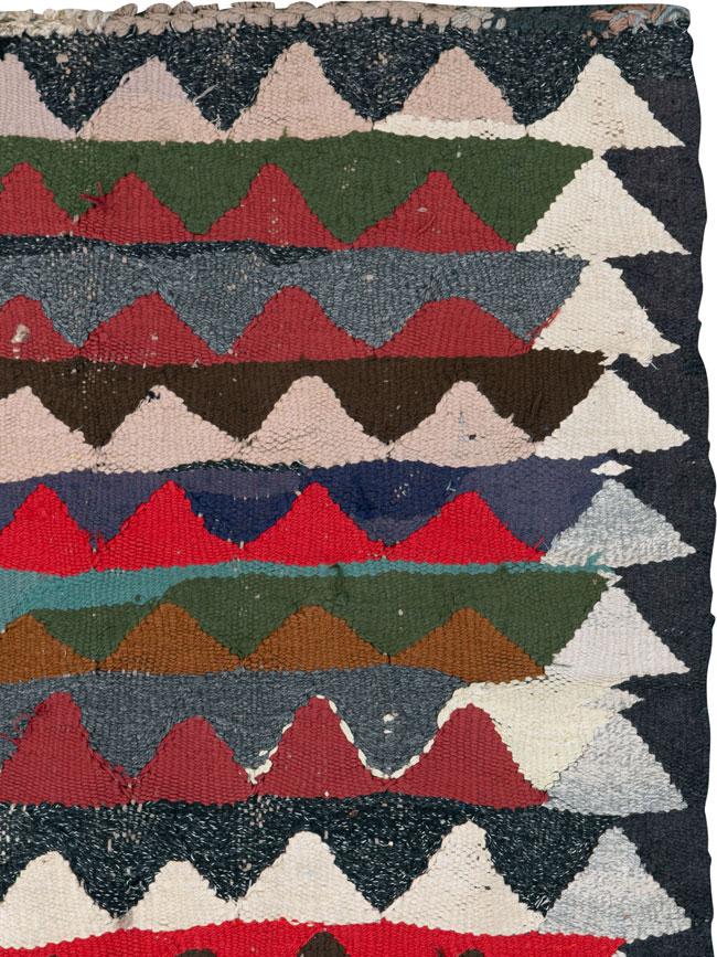 Vintage Persian Flatweave, No.26102 - Galerie Shabab