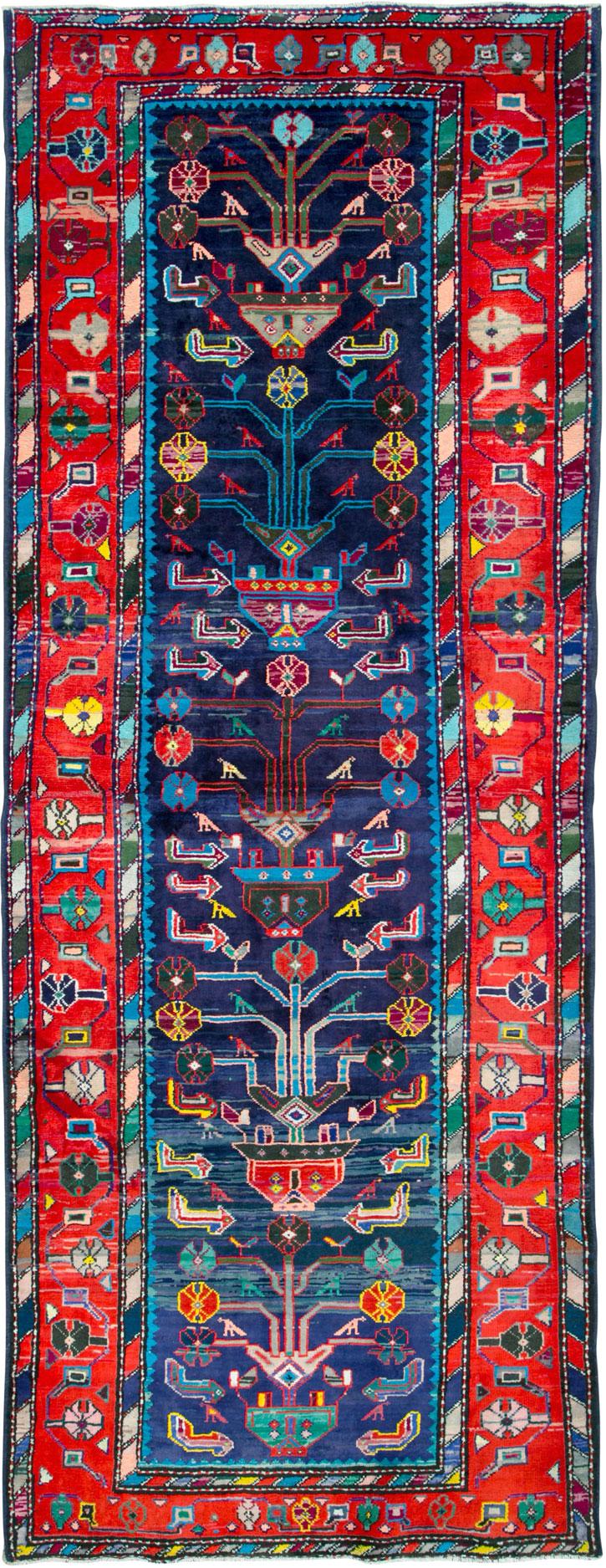 Vintage Persian Hamadan Rug, No.26214 - Galerie Shabab