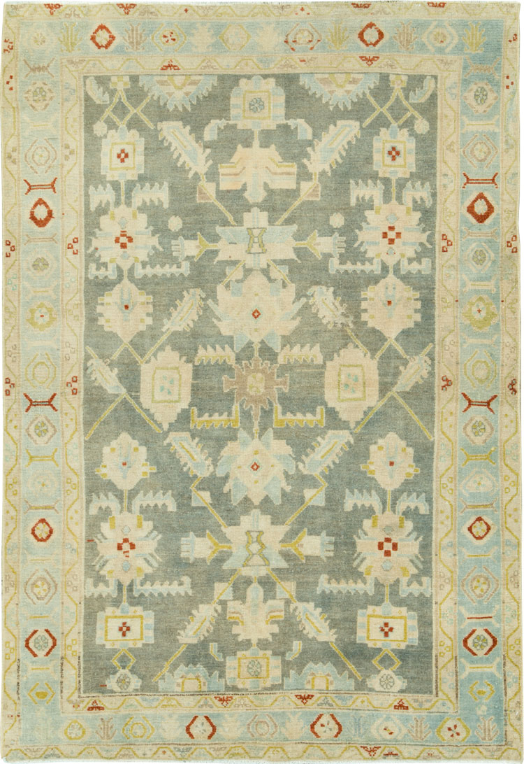 Vintage Persian Malayer Rug, No.26376 - Galerie Shabab