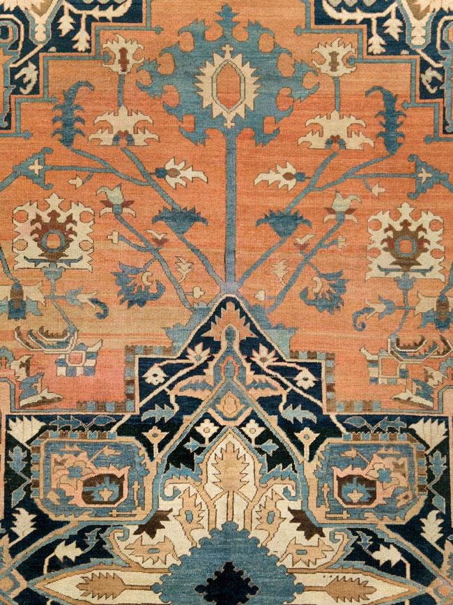 Antique Persian Serapi Carpet, No.26656 - Galerie Shabab
