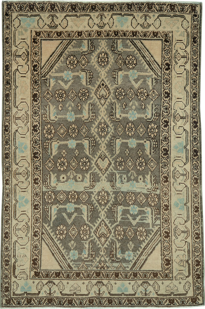 Vintage Persian Malayer Rug, No.26872 - Galerie Shabab