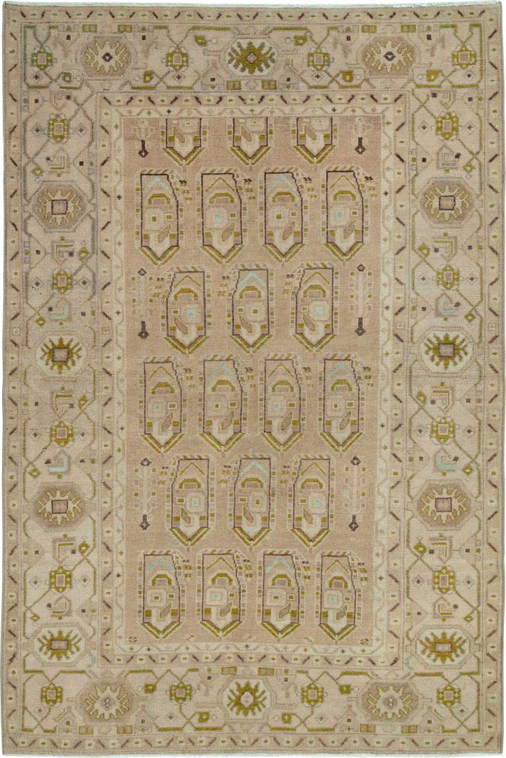Vintage Persian Malayer Rug, No.26944 - Galerie Shabab