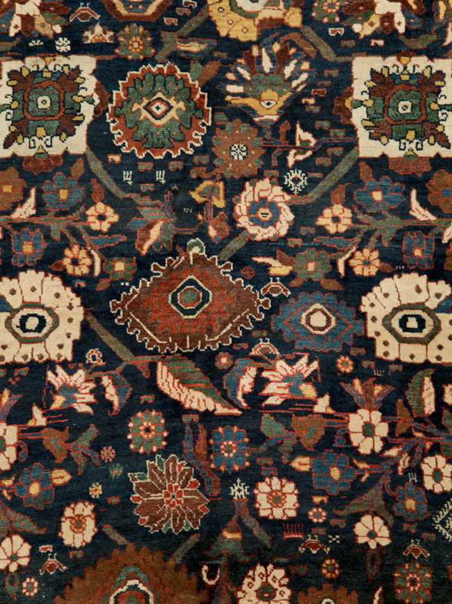 Antique Persian Bidjar Carpet, No.27752 - Galerie Shabab