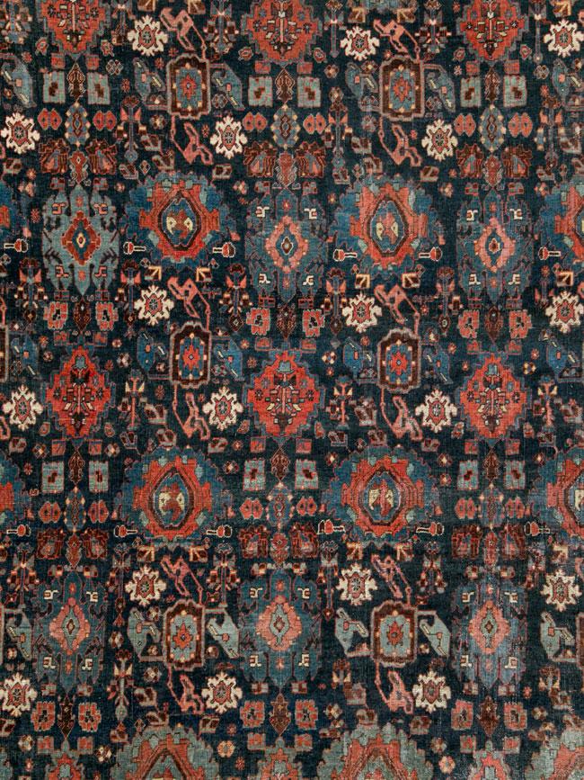 Antique Persian Bidjar Carpet, No.27828 - Galerie Shabab