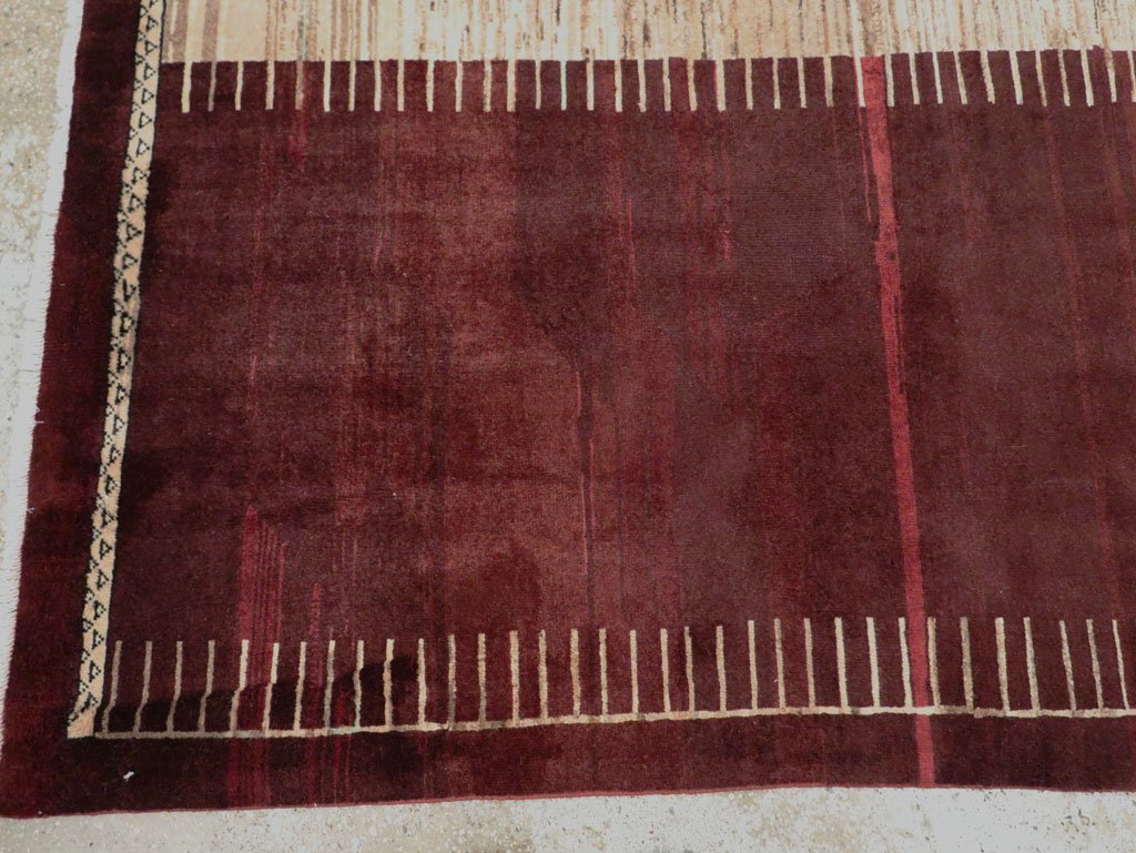 Vintage Persian Tabriz Rug, No.27885 - Galerie Shabab