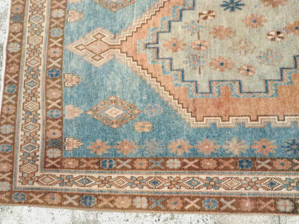 Vintage Persian Afshar Accent Rug, No.28576 - Galerie Shabab