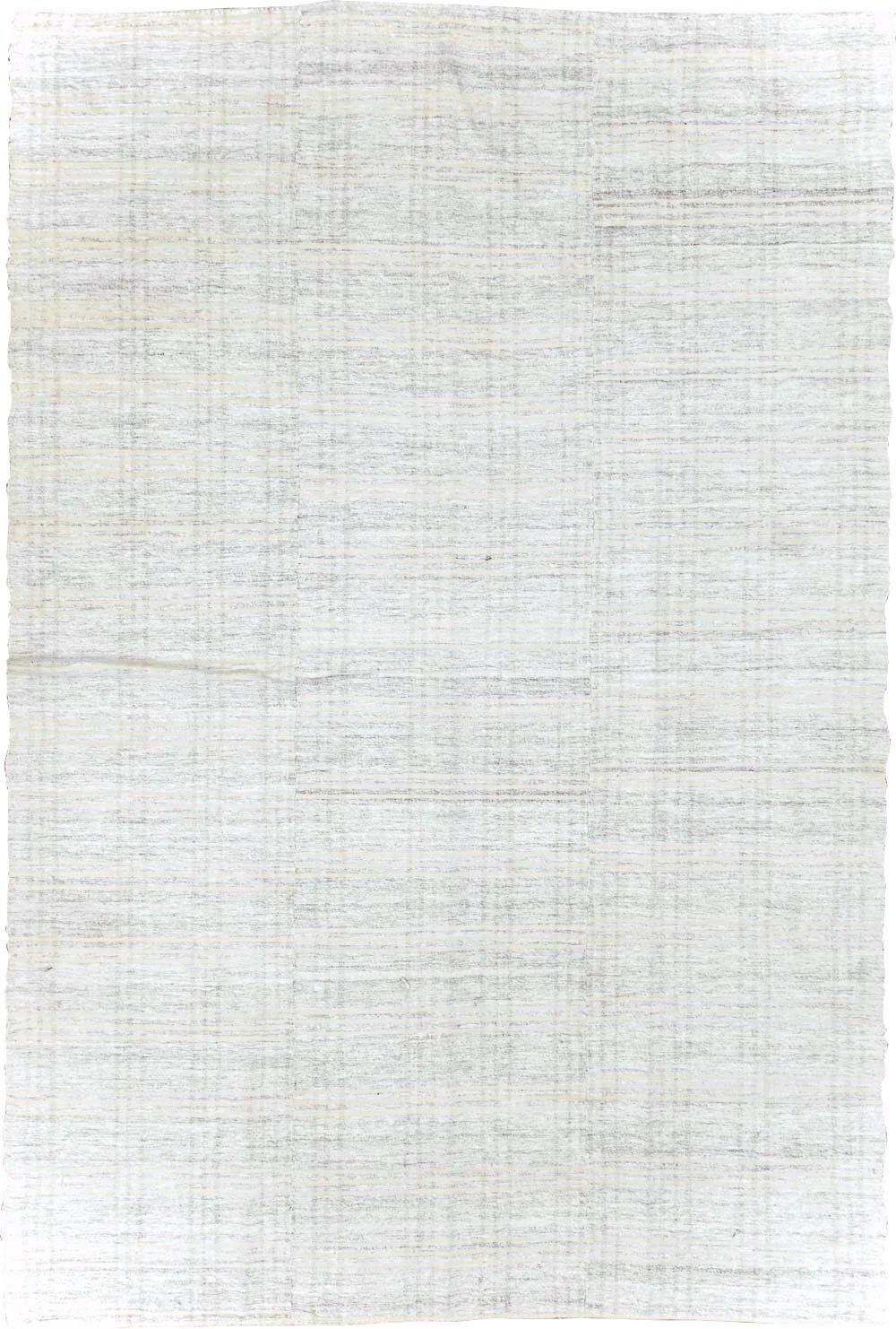 Vintage Turkish Flatweave Kilim Accent Rug, No.29483 - Galerie Shabab
