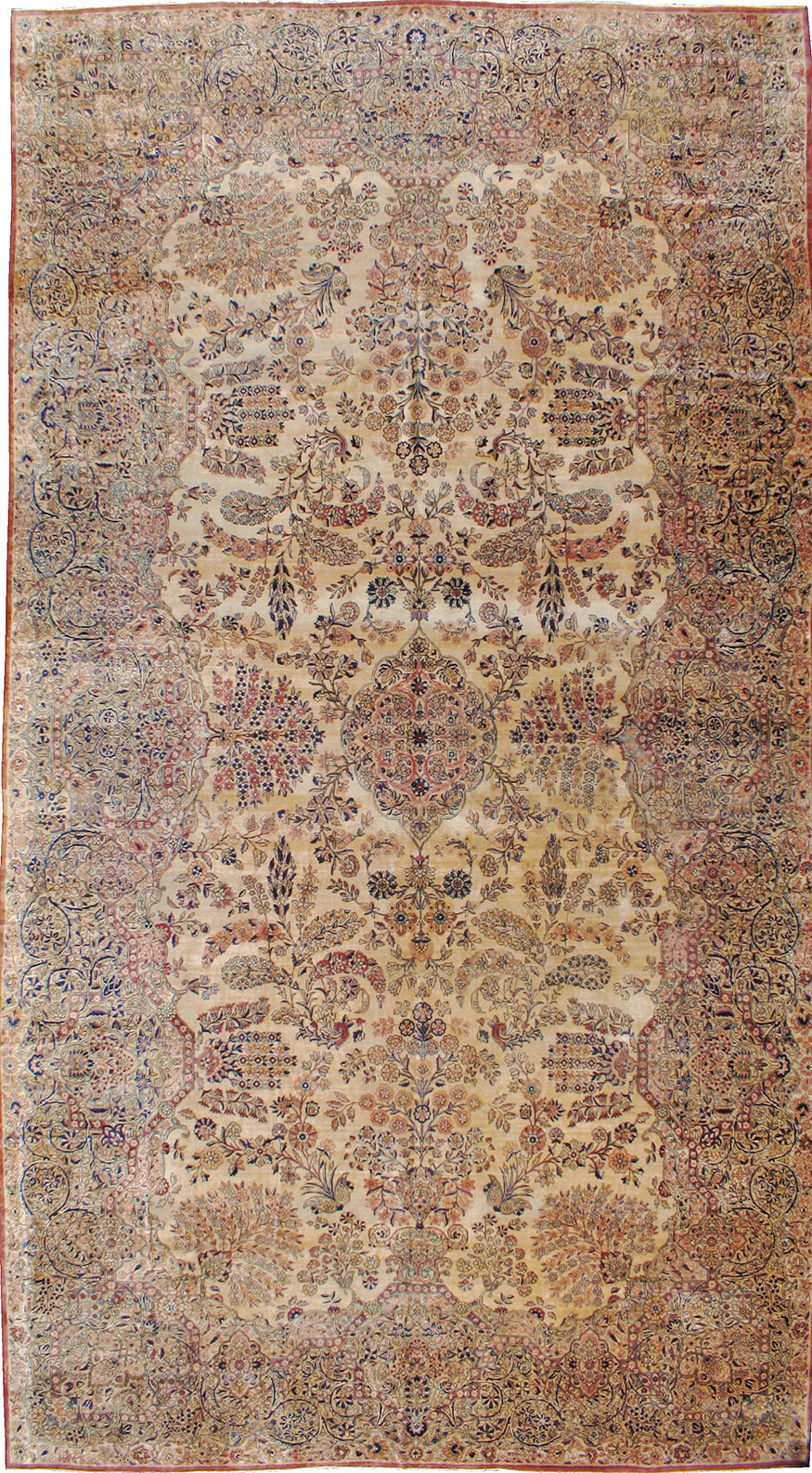 Persian Kerman Carpet No 8822