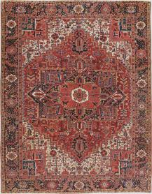 Antique Heriz Carpet, No. 10053 - Galerie Shabab