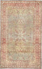 Antique Lavar Kerman Carpet, No. 10635 - Galerie Shabab