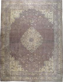 Antique Oushak Carpet, No. 11211 - Galerie Shabab