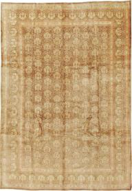 Semi-Antique Mashad Carpet, No. 11350 - Galerie Shabab