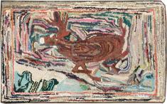 A Hook Rug, No. 11535 - Galerie Shabab