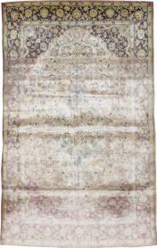 A Kashan Silk Carpet, No. 11755 - Galerie Shabab