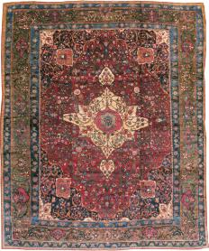 Antique Bakhtiari Carpet, No. 11770 - Galerie Shabab