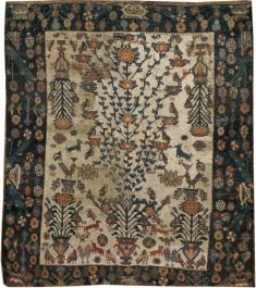 Antique Afshar Rug, No. 11973 - Galerie Shabab