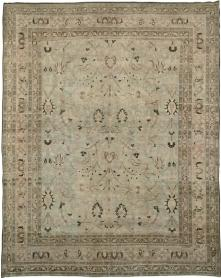 Antique Mashad Carpet, No. 11992 - Galerie Shabab