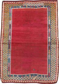 Antique Gabbeh Rug, No. 12238 - Galerie Shabab