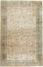 Antique Mashad Carpet, No. 12731 - Galerie Shabab