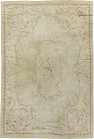 Antique Aubusson Carpet, No. 13096 - Galerie Shabab