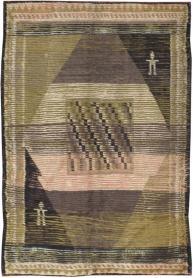 Vintage Konya Rug, No. 13221 - Galerie Shabab