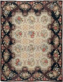 Antique English Needlepoint, No. 13325 - Galerie Shabab