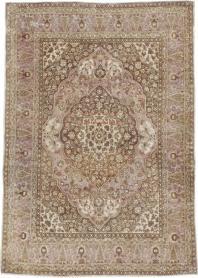 Antique Tabriz Rug, No. 13363 - Galerie Shabab