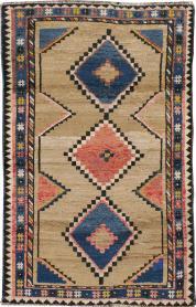 Vintage Gabbeh Rug, No. 13472 - Galerie Shabab
