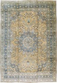 Antique Mashad Carpet, No. 13888 - Galerie Shabab